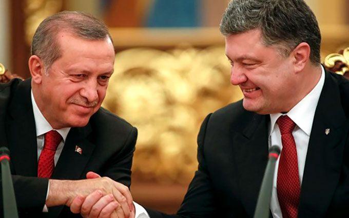 Ердоган пояснив Порошенко позицію по Криму після зустрічі з Путіним