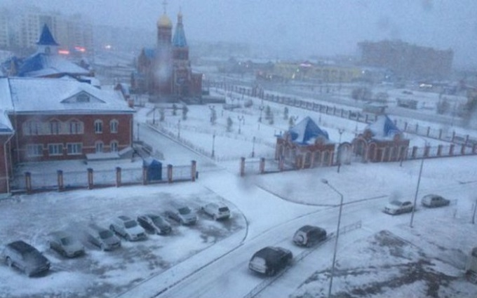 У Росії в перший день літа випав сніг: з'явилися фото і відео