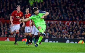 Манчестер Юнайтед - Ливерпуль - 1-1: видео голов