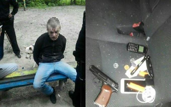 У Києві п'яний відкрив стрілянину на дитячому майданчику: опубліковані фото