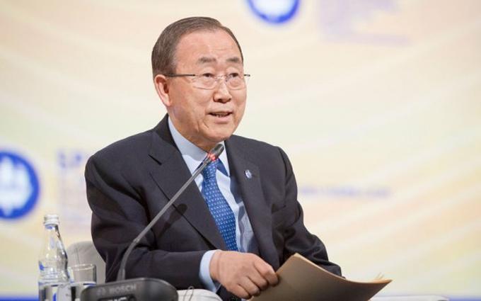 Скандал із Пан Гі Муном: в ООН виправили його промову про Росію