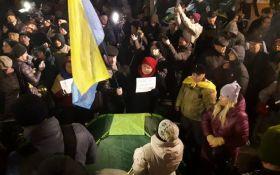 На Майдане в центре Киева произошли столкновения