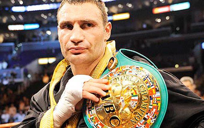 Кличко оголошений вічним чемпіоном світу з боксу