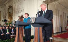 Трамп и Меркель снова обсудили ситуацию на Донбассе