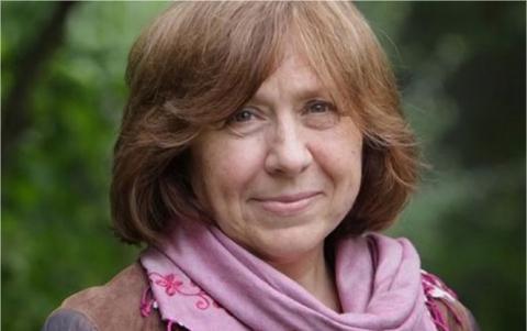 Письменниця з Білорусі українського походження стала лауреатом Нобелівської премії з літератури