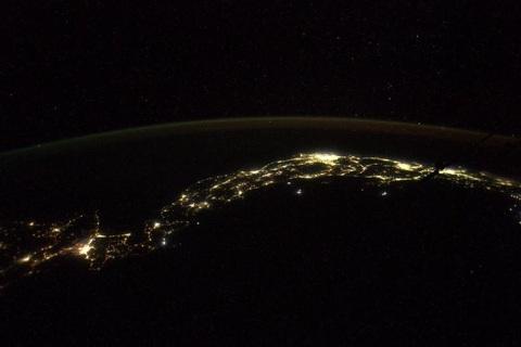 Астронавт сфотографировал Японию с борта МКС: опубликовано фото (1)