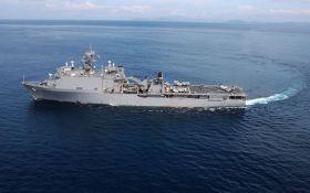 Американські військові нарешті назвали мету корабля США в Чорному морі