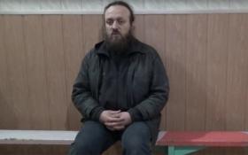 Чернець Московського патріархату зізнався, що працював на бойовиків ДНР: з'явилося відео
