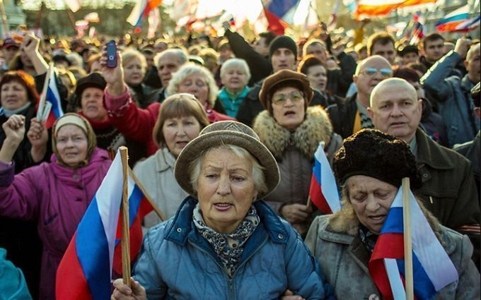 """Прозріли: третина росіян передумала називати анексію Криму """"корисною"""""""