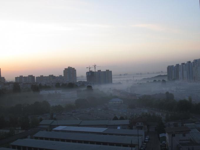 Киев накрыло густым и едким дымом: местные жители публикуют красноречивые фото (1)