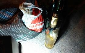 """В Одесі знайшли пляшки з """"коктейлями Молотова"""": опубліковані фото і відео"""