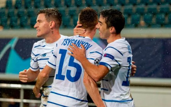 Динамо феноменально разгромило Гент в борьбе за Лигу чемпионов