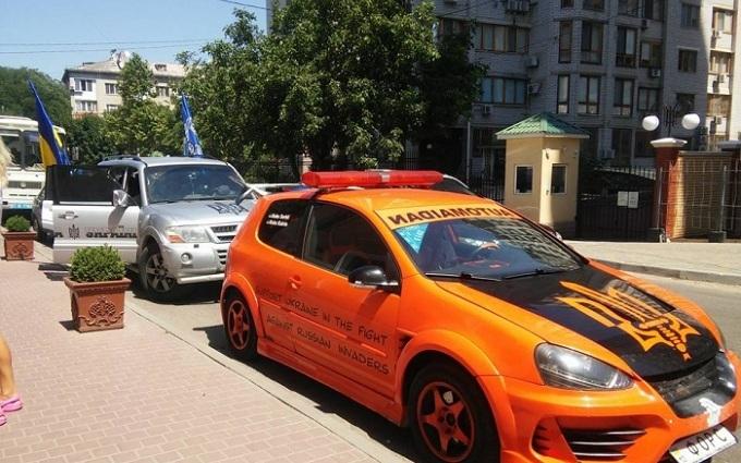 В Одесі Автомайдан зірвав захід Опоблоку: з'явилися фото і відео