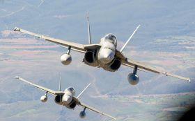Винищувачі НАТО перехопили більш десяти військових літаків Росії над Балтійським морем