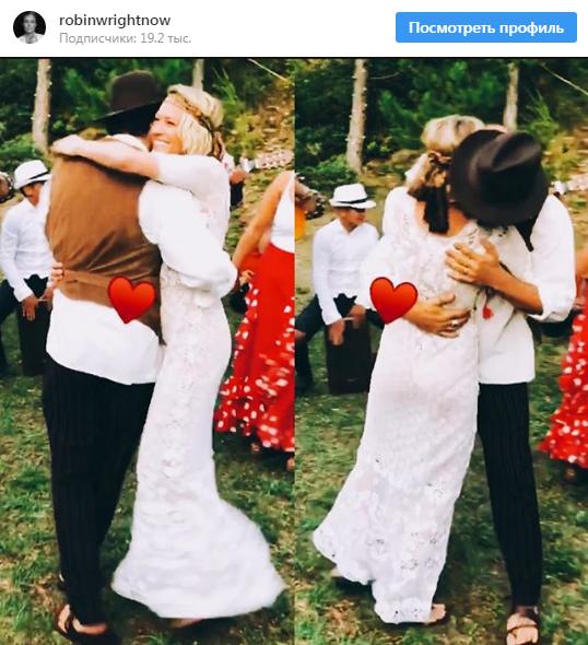 """Зірка """"Карткового будинку"""" таємно вийшла заміж - перше фото з весілля (1)"""