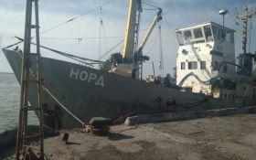 В Азовском море задержали судно под флагом России