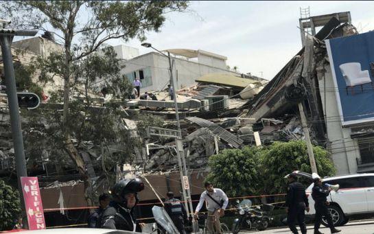 Мощное землетрясение в Мексике унесло сотни жизней: опубликованы видео