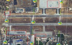 В сети раскрыли расположение путинских самолетов в Сирии: фото со спутника