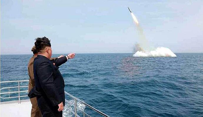 Видео запуска баллистической ракеты КНДР является поддельным - эксперты