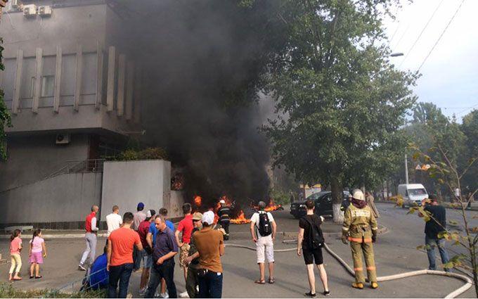 """У Авакова зробили нову гучну заяву про пожежу на """"Інтері"""""""