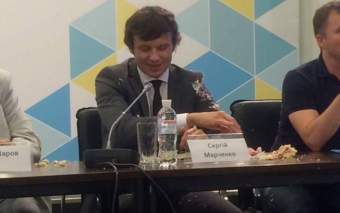 У заступника міністра фінансів України кинули торт: опубліковані фото і відео