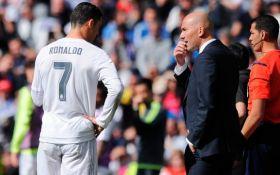 Зидан: «Верю, что Роналду хочет остаться в Реале»