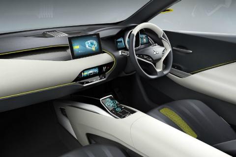 Mitsubishi показала прототип електричного кросовера під назвою eX (5 фото) (2)