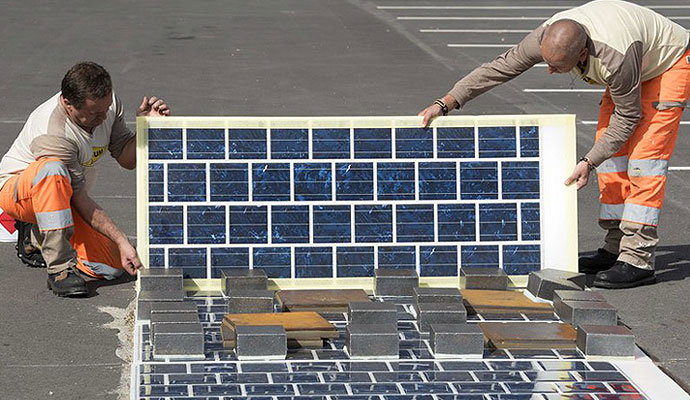 Министр экологии и энергетики Франции планирует построить 1000 км дорог с солнечными панелями