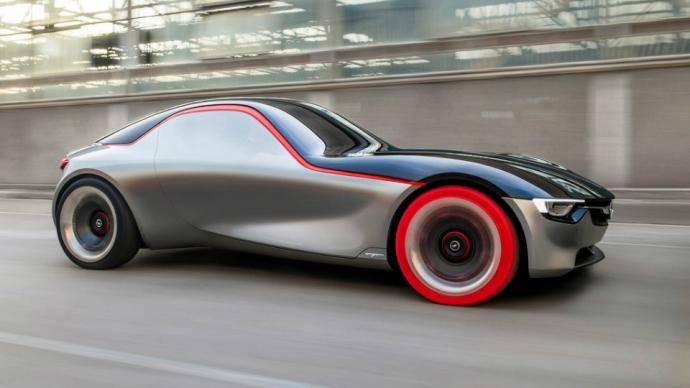 Opel показал прототип маленького заднеприводного купе (7 фото) (5)