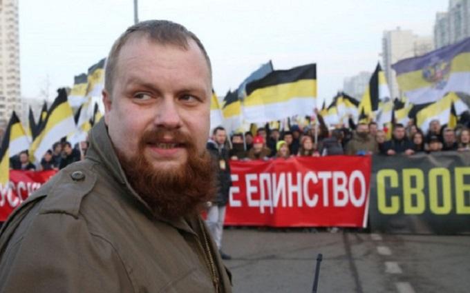 Лідер російських націоналістів розповів, як Кремль заманював його на Донбас