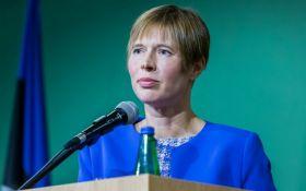 Це війна і окупація: президентка Естонії про ситуацію в Україні