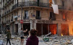 У центрі Парижа прогримів потужний вибух, є постраждалі: перші подробиці і фото