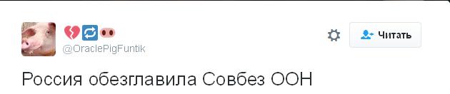 Росія очолила Радбез ООН: соцмережі киплять від ядучих жартів (2)