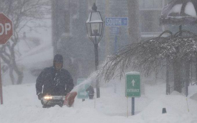 Через удар зимового шторму вСША загинуло 10 осіб