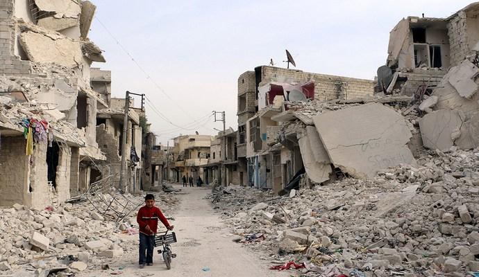 Известно количество проживающих в Алеппо украинцев