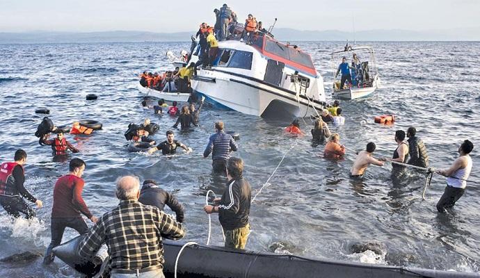 Береговая охрана Греции сообщила о затонувшей лодке с мигрантами