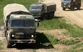 Караван грузовиков: опубликовано видео незаконного въезда конвоя из РФ на Донбасс