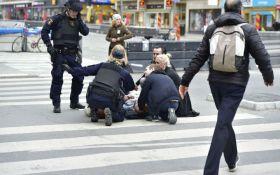 Теракт в Стокгольме: появилось видео момента трагедии