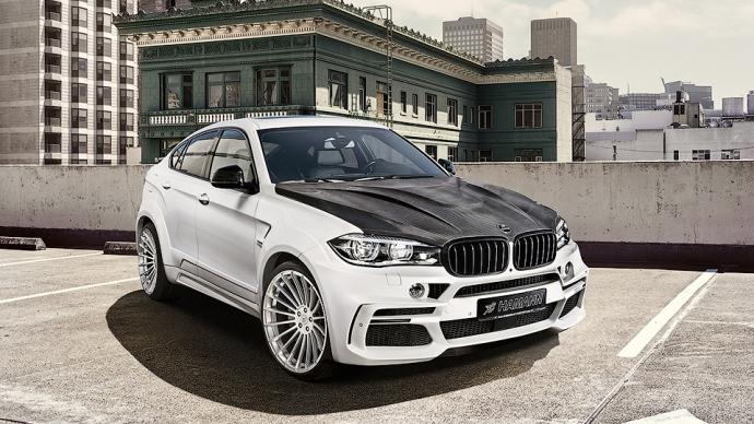 Мастера Hamann представили свои версии BMW X4 и X6 (8 фото)