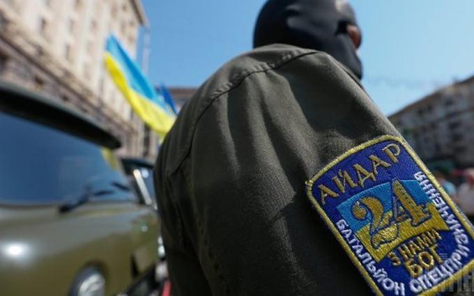 """Війна на Донбасі: в """"Айдарі"""" повідомили про втрати"""