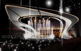 Во всей красе: появилось яркое фото главной сцены Евровидения-2017