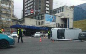 В центре Киева произошло масштабное ДТП, есть пострадавшие: появились фото