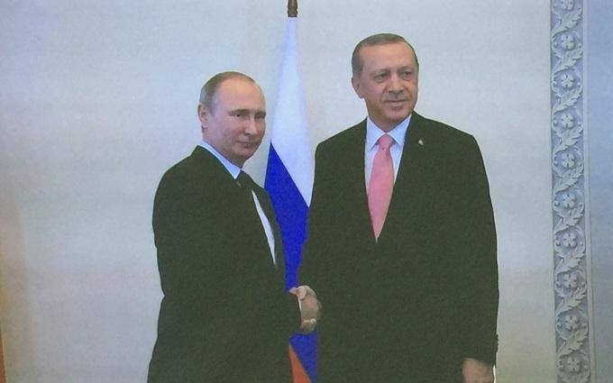Путін зустрівся з Ердоганом: з'явилося фото
