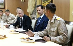 Асад виправдався перед Путіним за збитий російський літак Іл-20