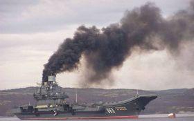 """Іржавий авіаносець """"великої країни"""": соцмережі ніяк не заспокояться через ганьбу Росії"""