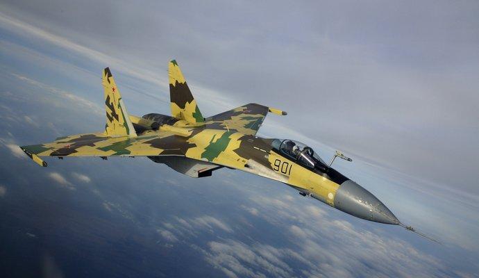 На админгранице с Крымом пограничники зафиксировали самолет РФ