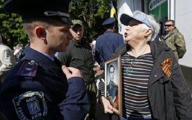 """У Києві через """"георгіївську стрічку"""" виникла бійка"""