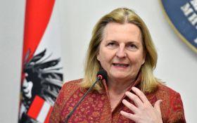 Шпионский скандал: глава МИД Австрии выступила с неожиданным заявлением