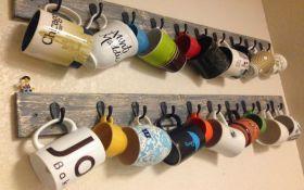 Как хранить чашки, чтобы на кухне было уютно: креативные идеи в фото