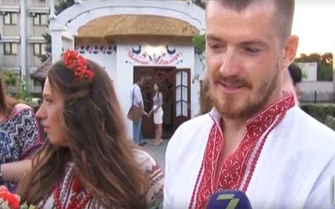 Сеть растрогала история о свадьбе героя АТО: опубликовано видео